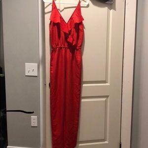 H&M Pants - H & M jumpsuit red 2 xs